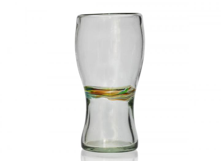 Recycled glass pint glass