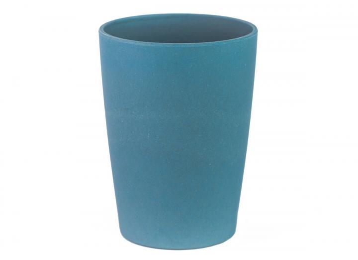 Bamboo fibre beaker in nile blue