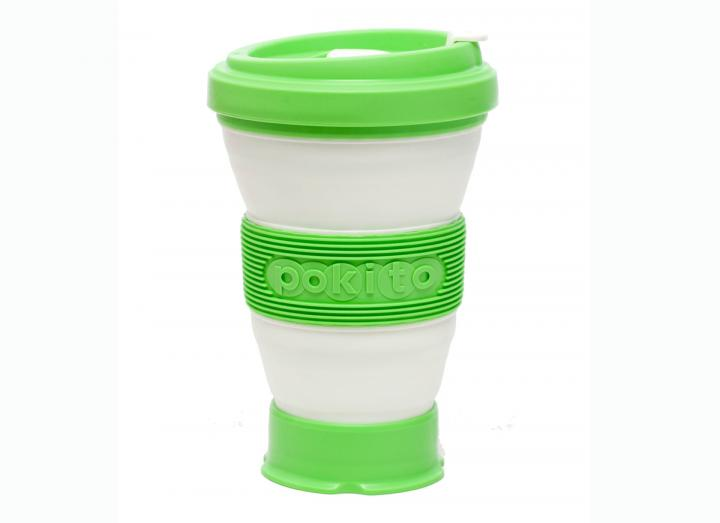 Pokito collapsible cup green