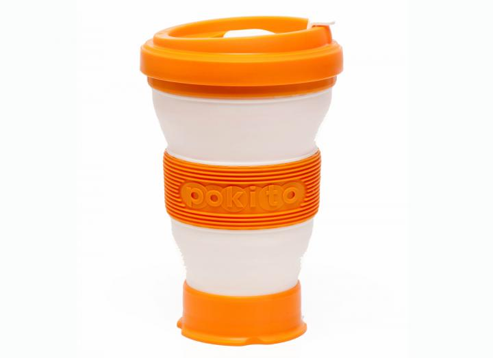 Pokito collapsible cup orange