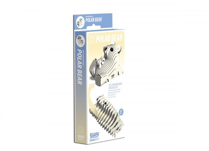 Eugy Polar Bear 3D model kit