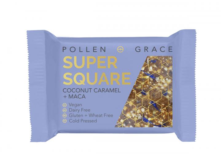 Pollen + Grace Coconut Caramel & Maca Super Square
