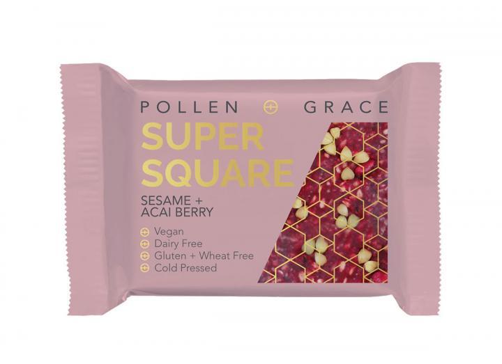 Pollen + Grace Sesame & Acai Super Square