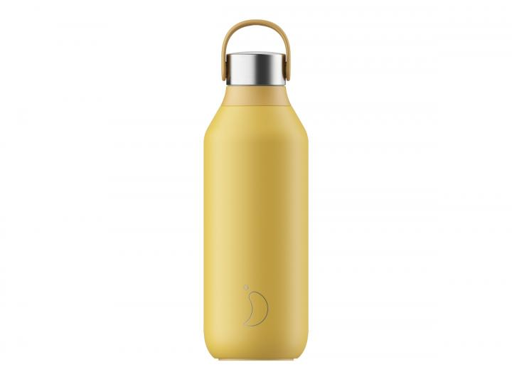 Pollen Yellow Series 2 Chilly's bottle