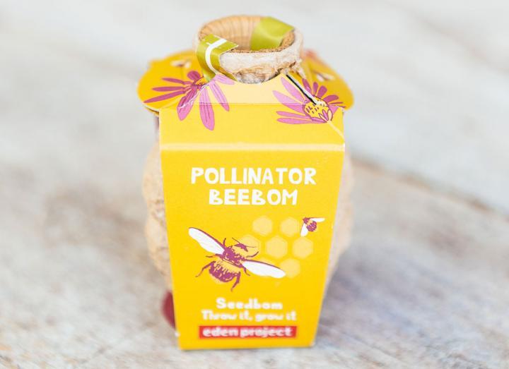 Pollinator seedbomb