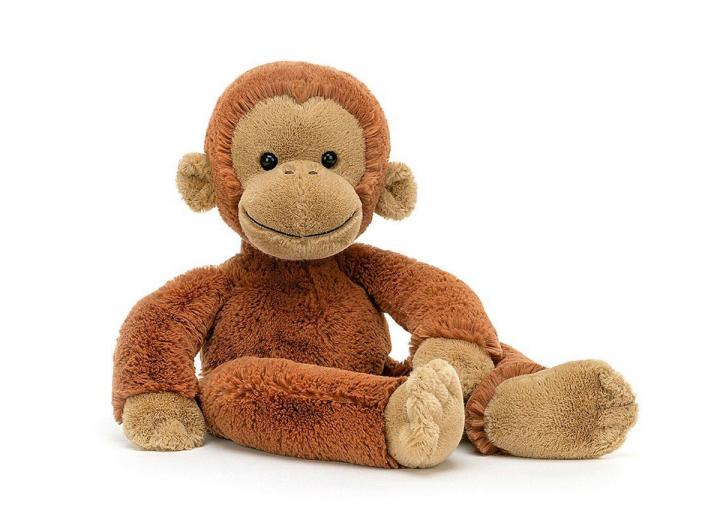 Pongo Orangutan cuddly toy from Jellycat