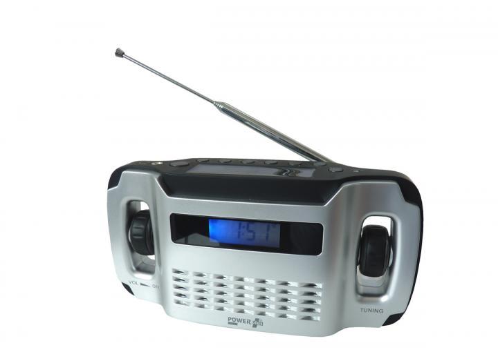Powerplus lynx flashlight & radio