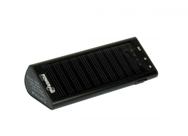 Powerplus zebra solar charger