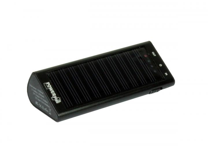 Powerplus zebra solar charger