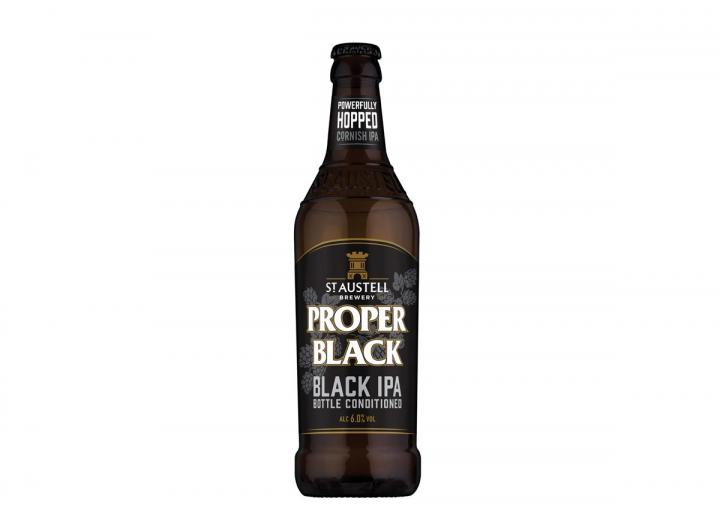 St Austell Brewery proper black IPA 500ml