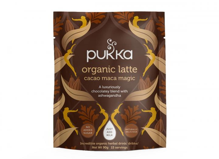 Pukka cacao maca magic herbal latte