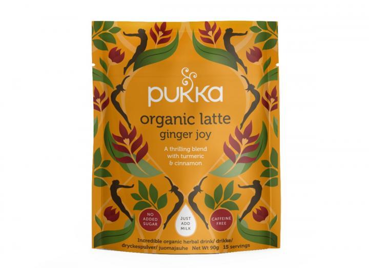 Pukka ginger joy herbal latte