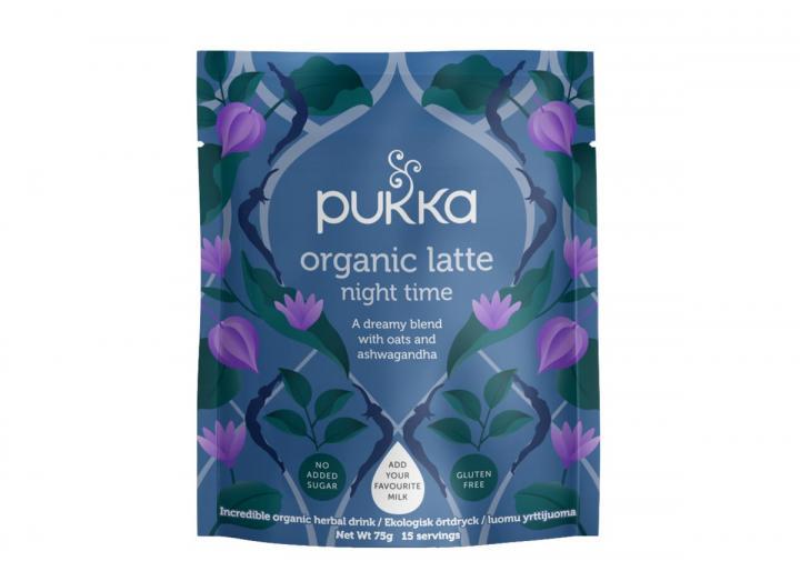 Pukka night time herbal latte
