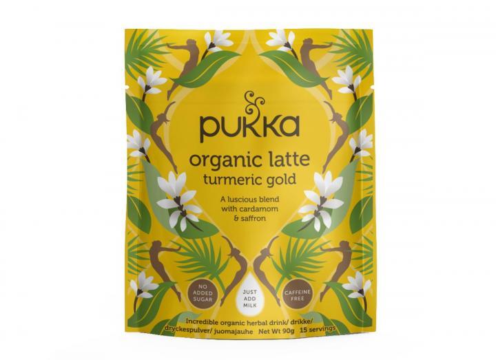 Pukka turmeric gold herbal latte