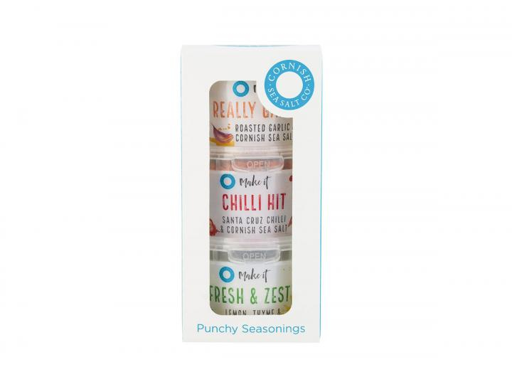 Punchy seasonings combi set from Cornish Sea Salt Company