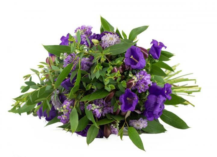 Purple Haze Bouquet, hand-tied by Tregothnan