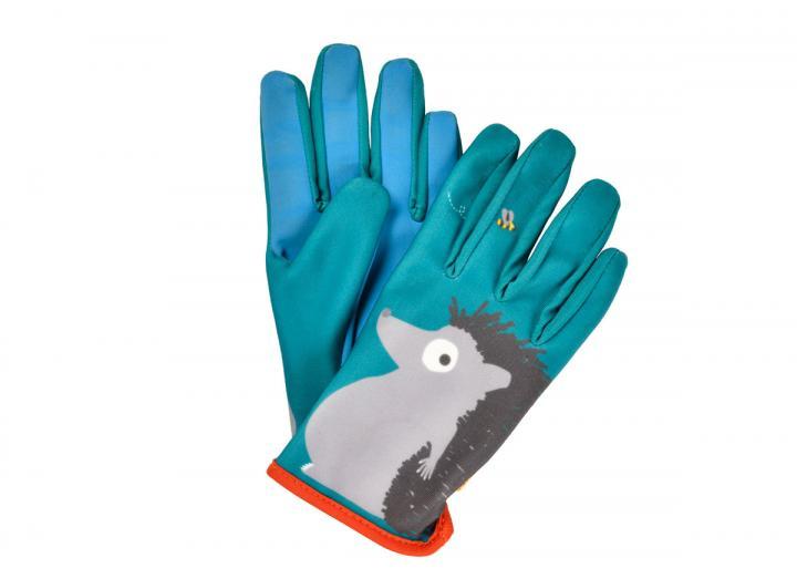 National Trust children's hedgehog gardening gloves