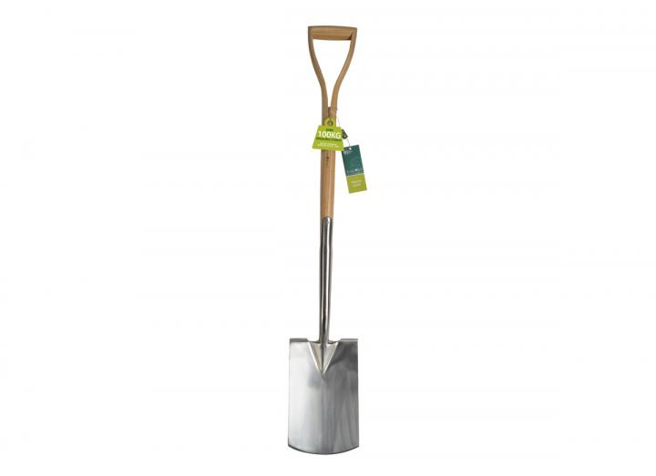 RHS stainless digging spade from Burgon & Ball