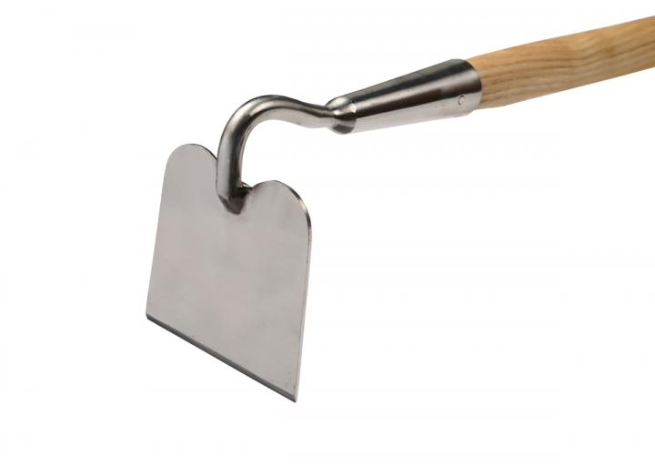 RHS stainless draw hoe from Burgon & Ball