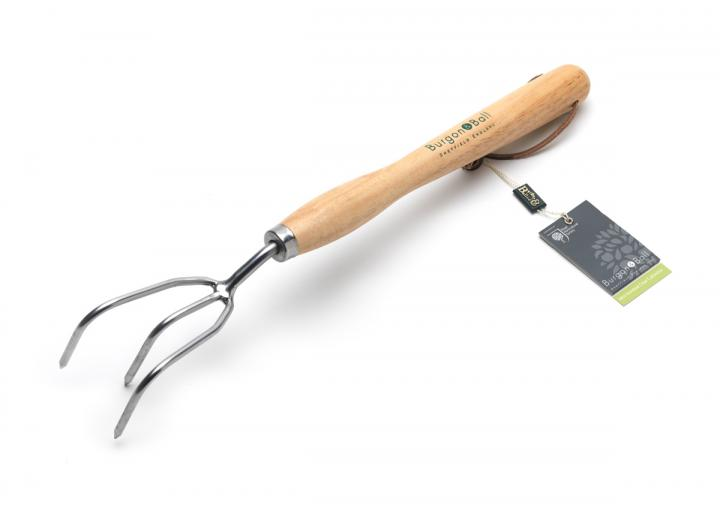 RHS stainless mid handled claw cultivator