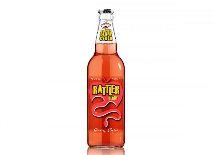 Healeys Rattler berry cyder 500ml