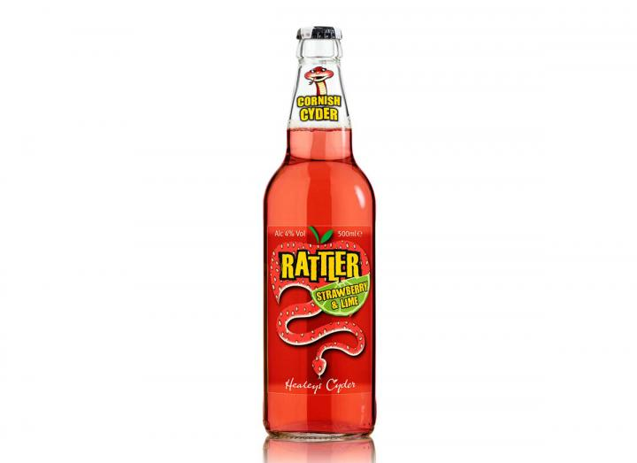 Rattler strawberry & lime cyder 500ml