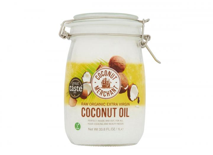Coconut Merchant raw organic extra virgin coconut oil 1L