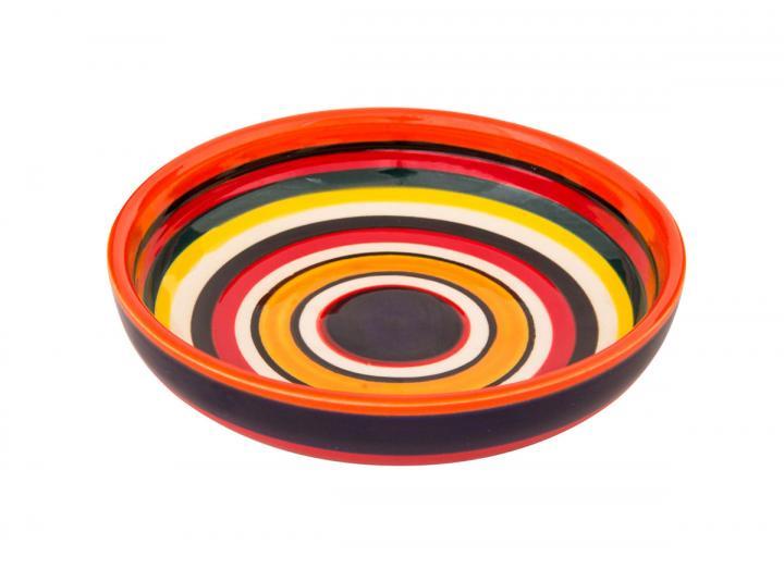 Rayas design shallow bowl