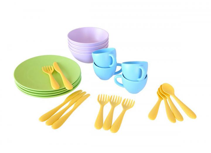Green Toys recycled dish set