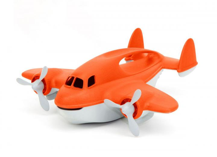 Green Toys recycled fire plane
