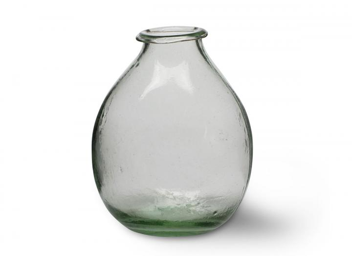 Recycled glass vase from Garden Trading