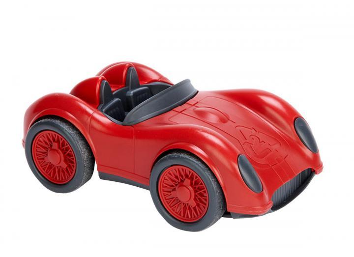 Recycled racing car