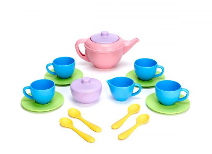 Recycled tea set