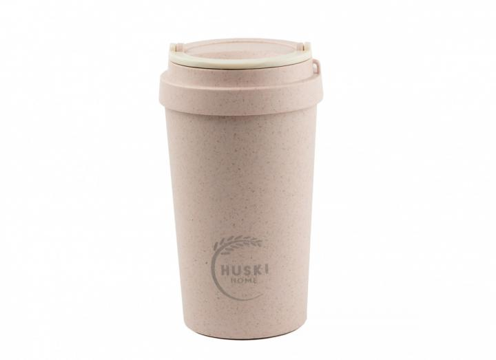 Rose rice husk travel cup from Huski Home