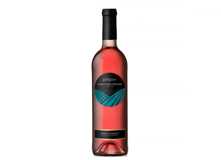 Polgoon Rondo & Pinot Noir Rose wine, made in Cornwall