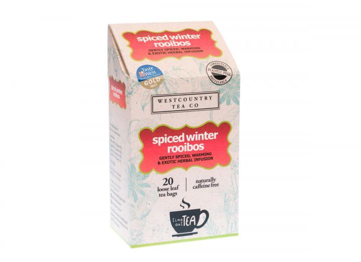 Westcountry Tea Co. spiced winter rooibos 20 tea bags 60g