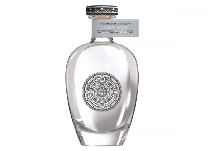 Rosemullion Distillery Cornish dry gin 70cl