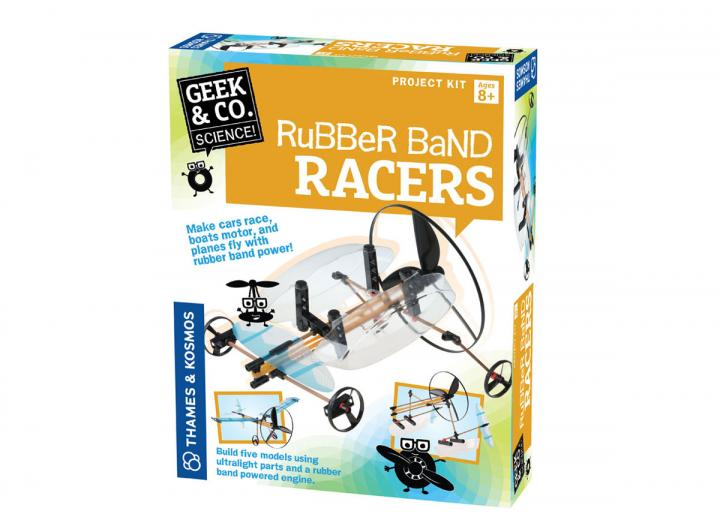 Rubber band racers kit