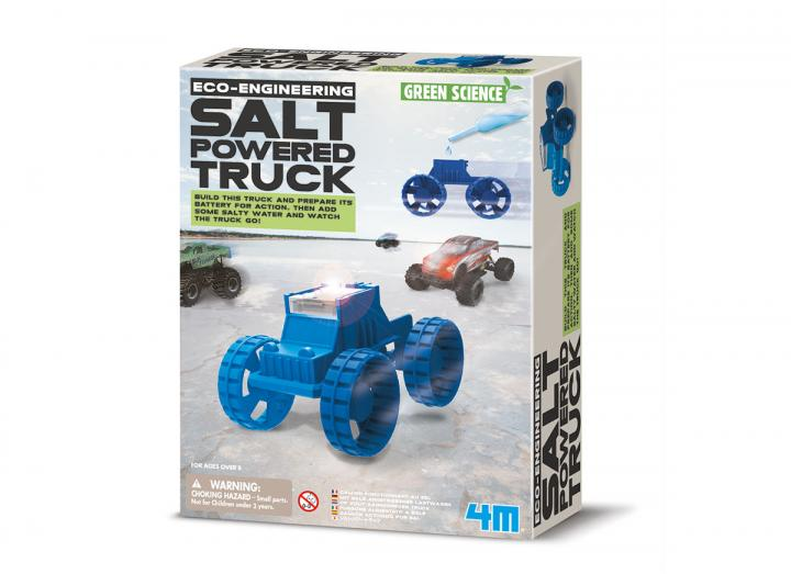 Salt powered truck