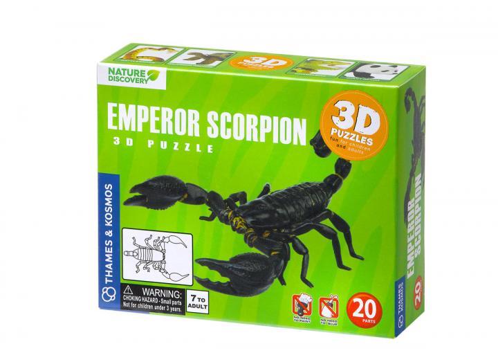 Scorpion 3d puzzle