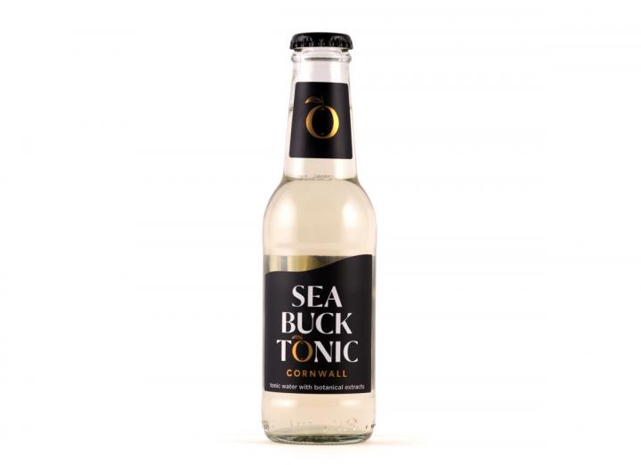 Sea Buck tonic water made in Cornwall