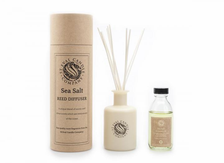 Sea salt scented reed diffuser