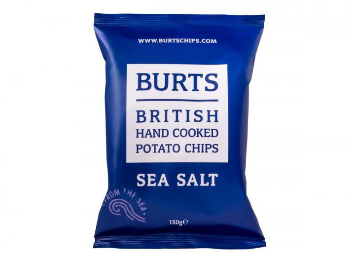 Burts sea salt potato chips