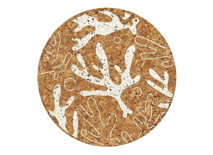 Cork seaweed placemats & coasters