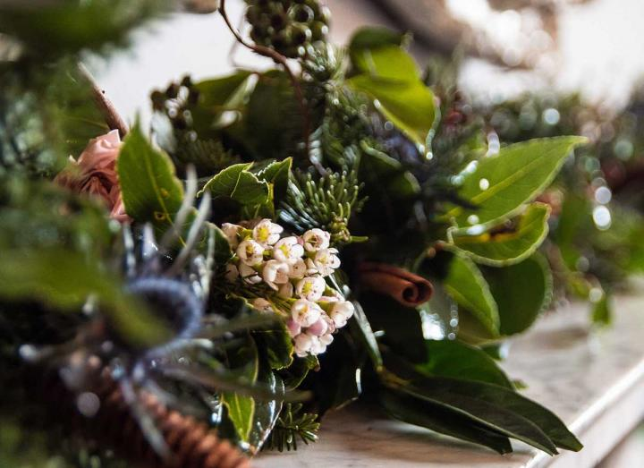 Signature Collection Garland handmade on the Tregothnan Estate in Cornwall