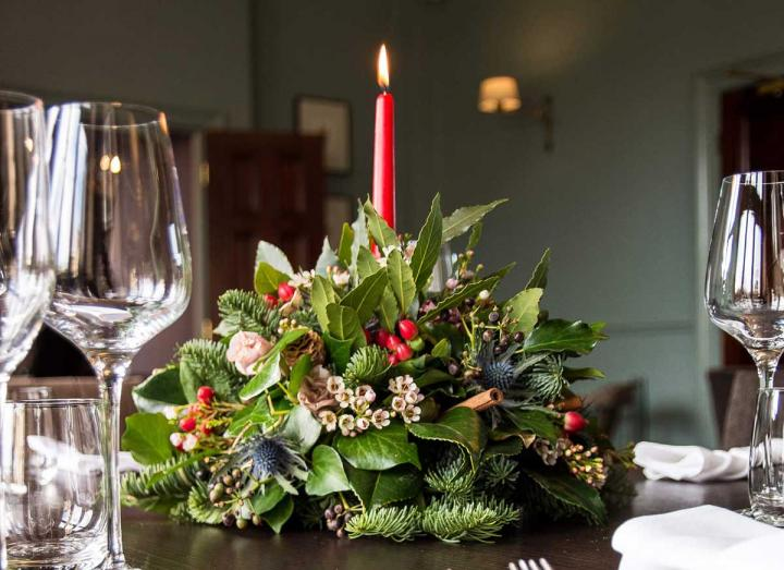 Signature Collection Table Decoration handmade on the Tregothnan Estate in Cornwall