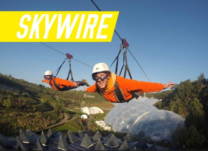 Skywire adventure package at Hangloose