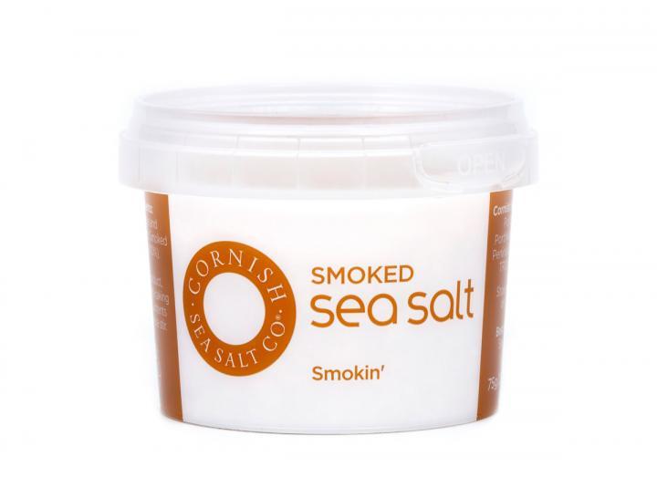 Smoked pinch salt from Cornish Sea Salt