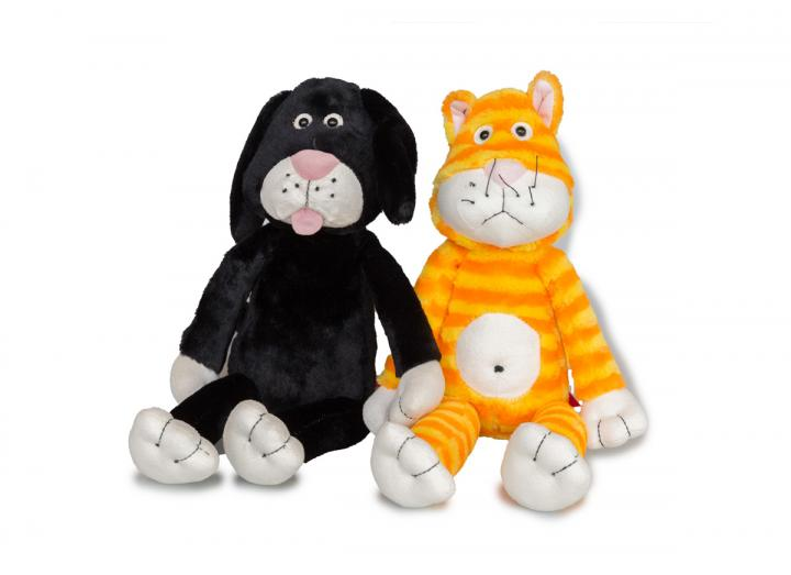 Sniff and Digger soft toys