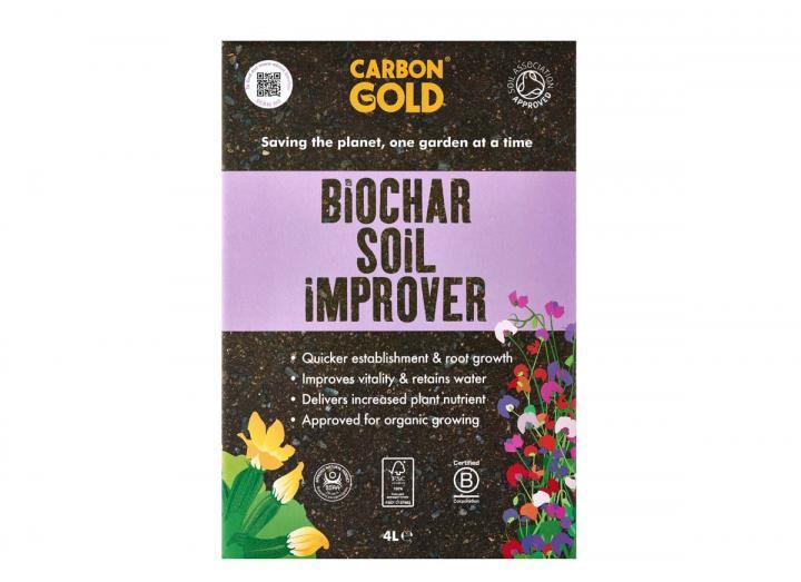 Carbon Gold biochar soil improver 4L